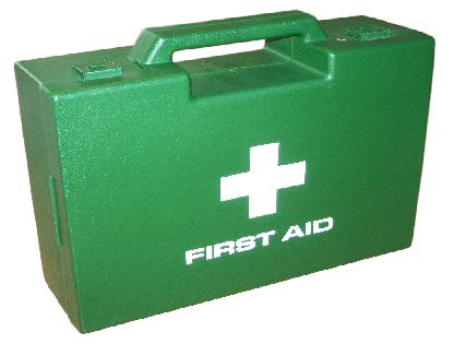 Picture of a first aid box